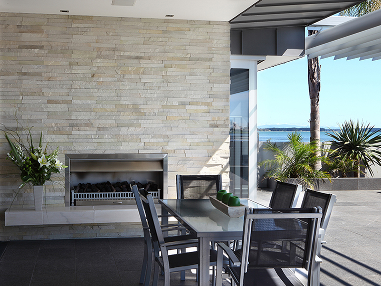 Island Stone Fireplace Chimney Breast Natural Cladding8